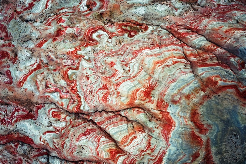 Candy Cane Mountains layers