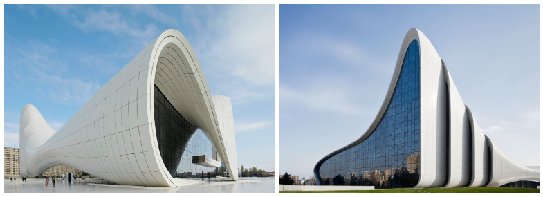 Heydar Aliyev center design