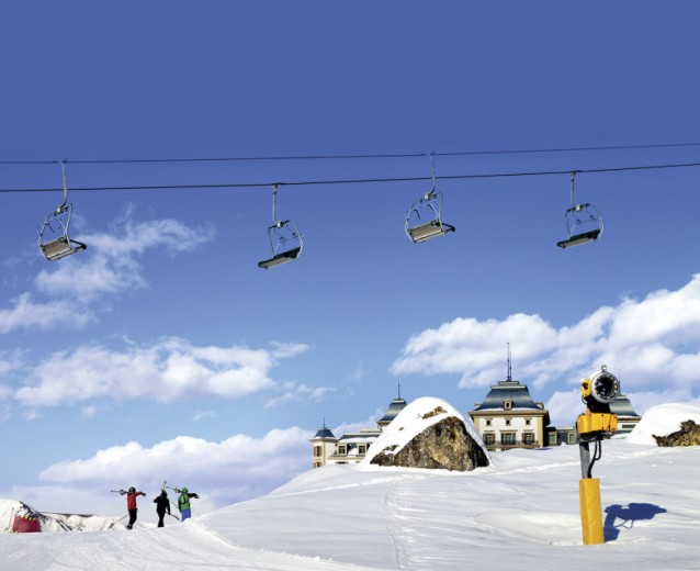 Shahdag Cable Car winter