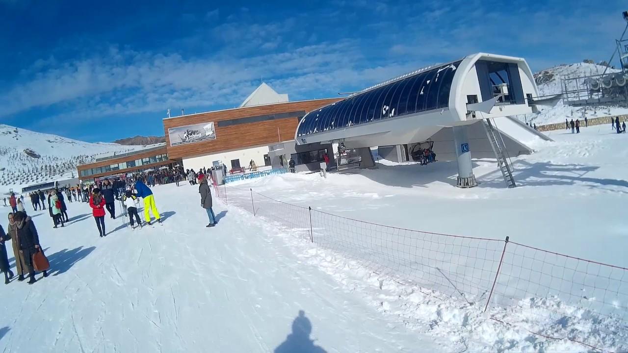 winter skiing in shahdag